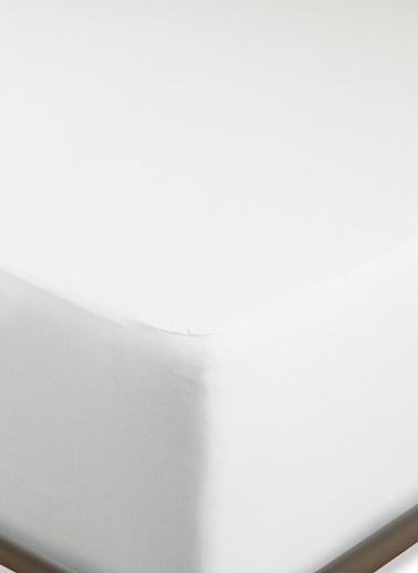 Penelope Penelope Pamuk Penye Sıvı Geçirmez Yatak Alezi 90x200+40 Cm Beyaz